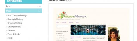 Help My blog Win