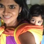 My Babywearing journey – Babywearing in India